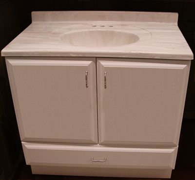 One Way To Improve The Look And Functionality Of A Bathroom Is With Well Built Attractive Vanity Cabinet While Cabinets Can Be