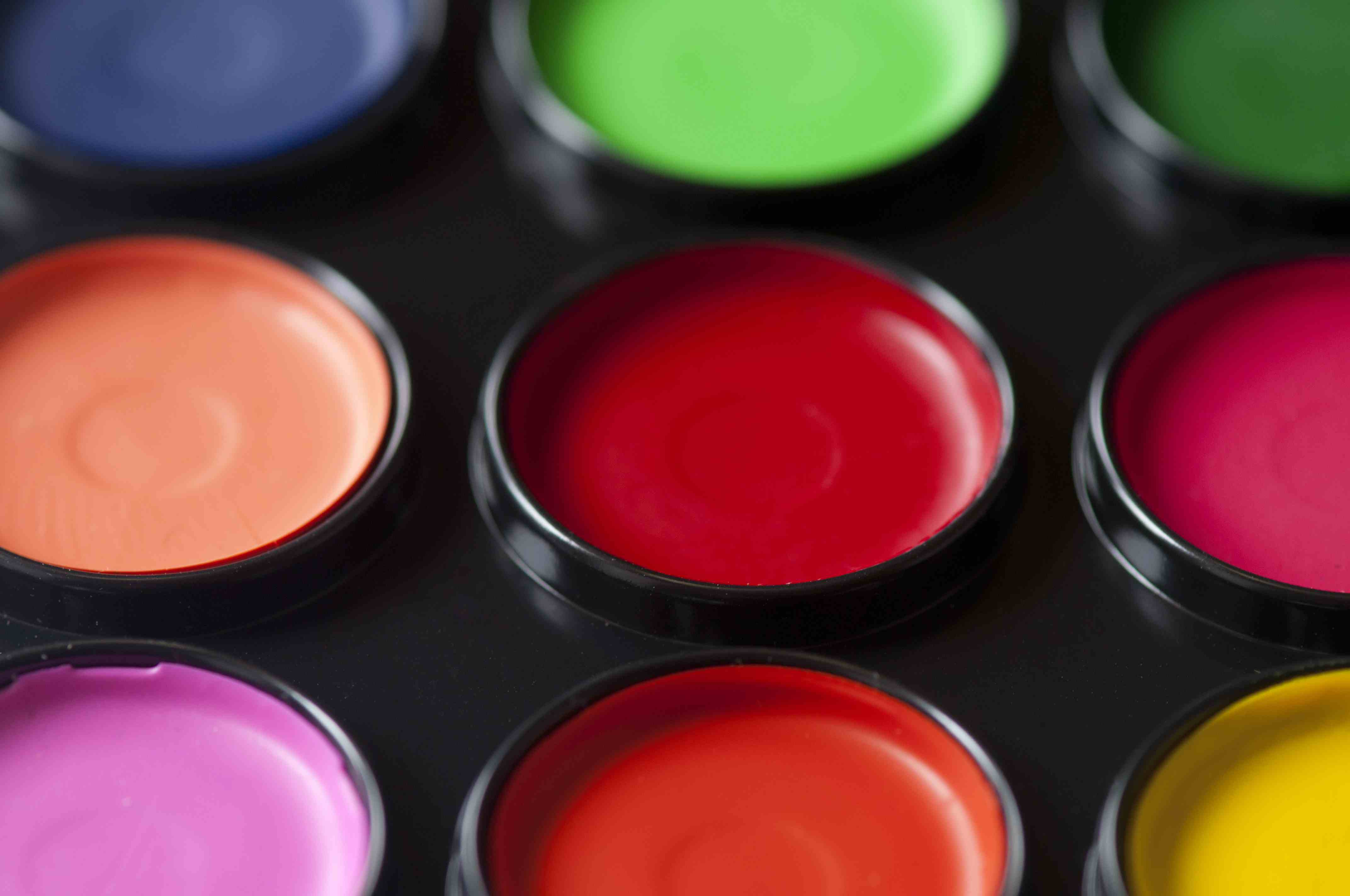 Paint Pallete Colours