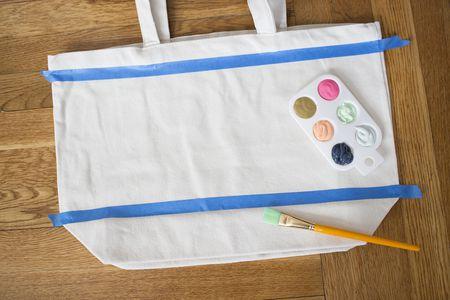 Diy Painted Canvas Tote Bag