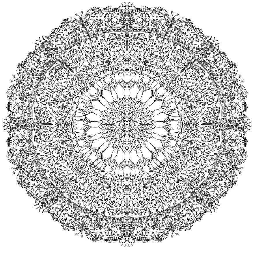 1 000 Free Printable Mandala Coloring Pages For Adults