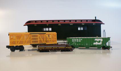 Model train scales