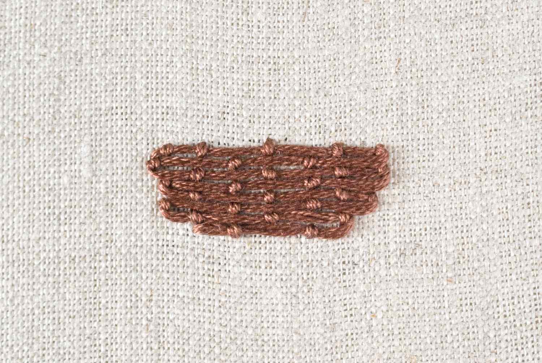 Couching Fill Stitching