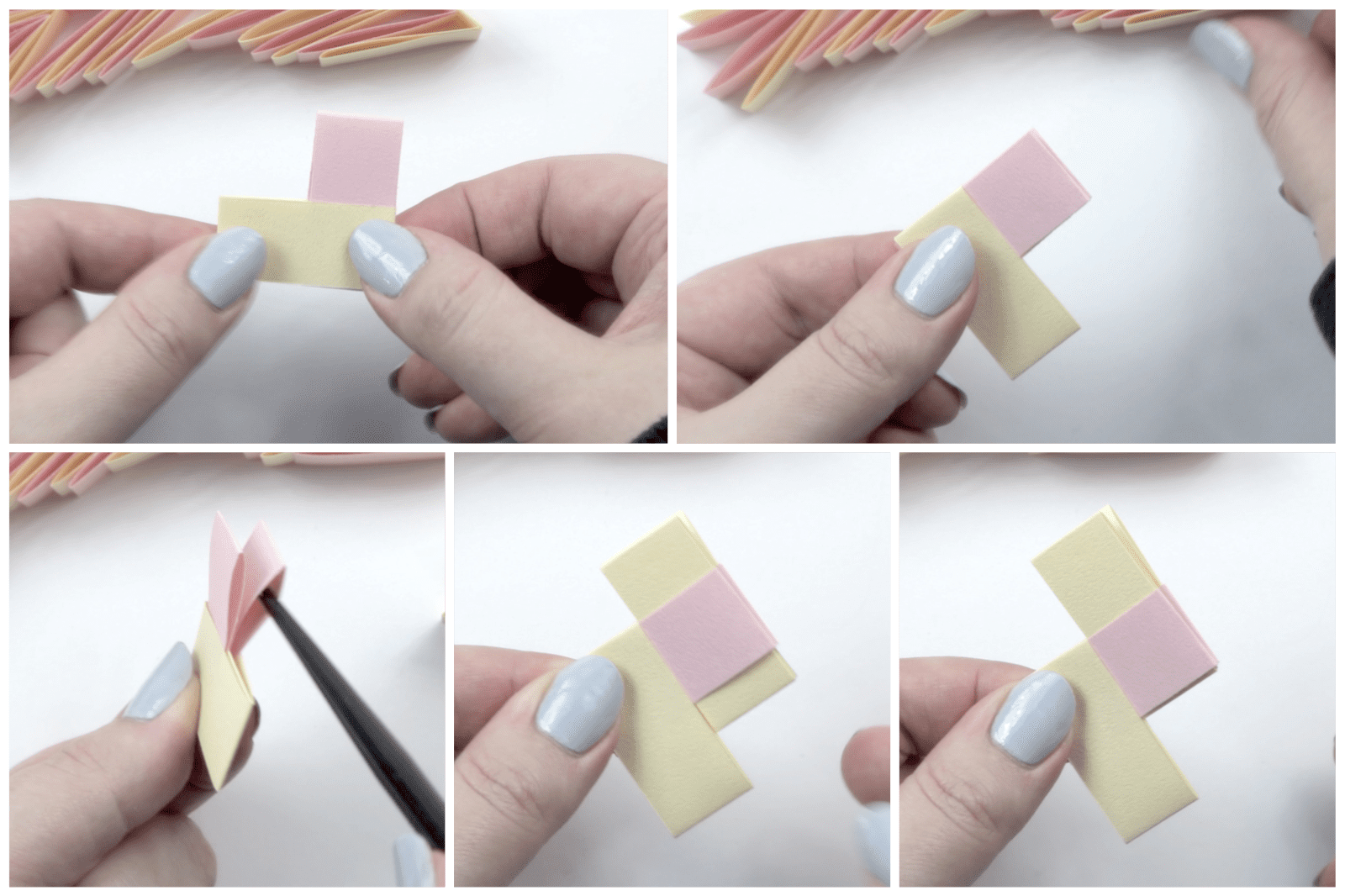 origami bracelet tutorial 04