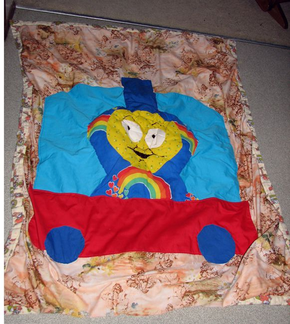 Thomas the Tank Engine Quilt... oops