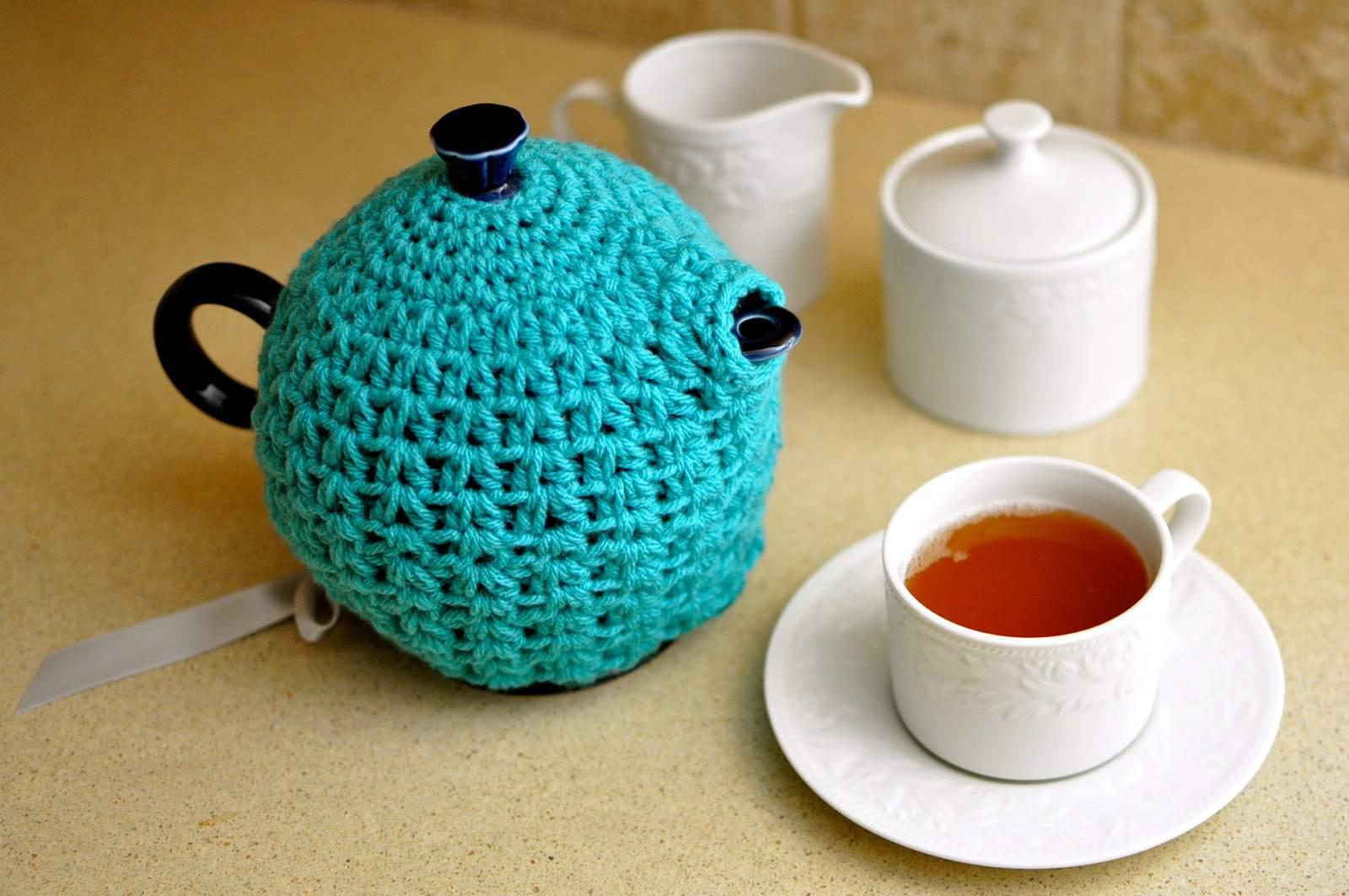 14 Free Tea Cozy Crochet Patterns
