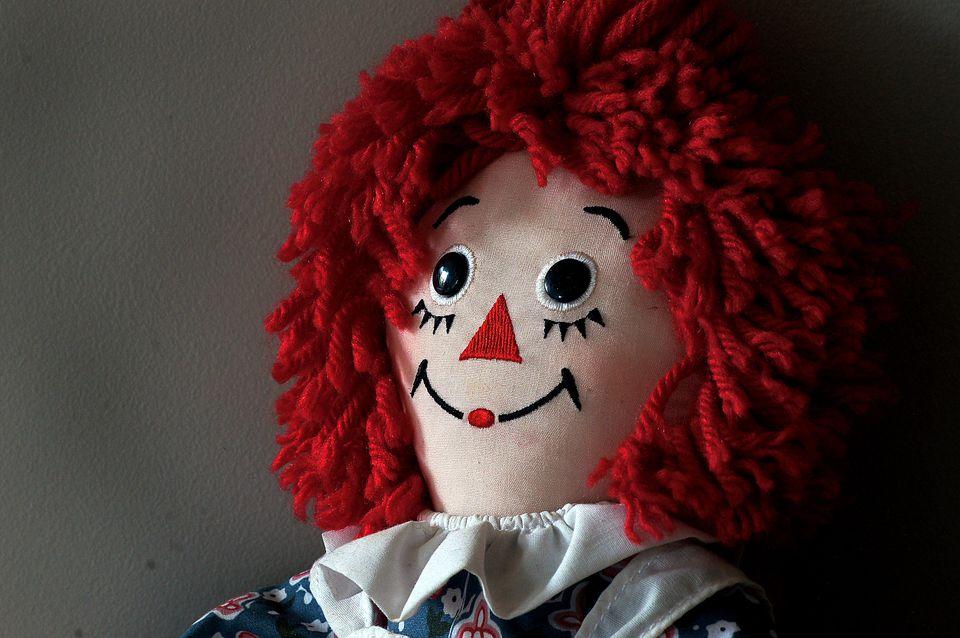 A Raggedy Ann doll