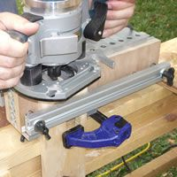 Katie Jig Dovetail System