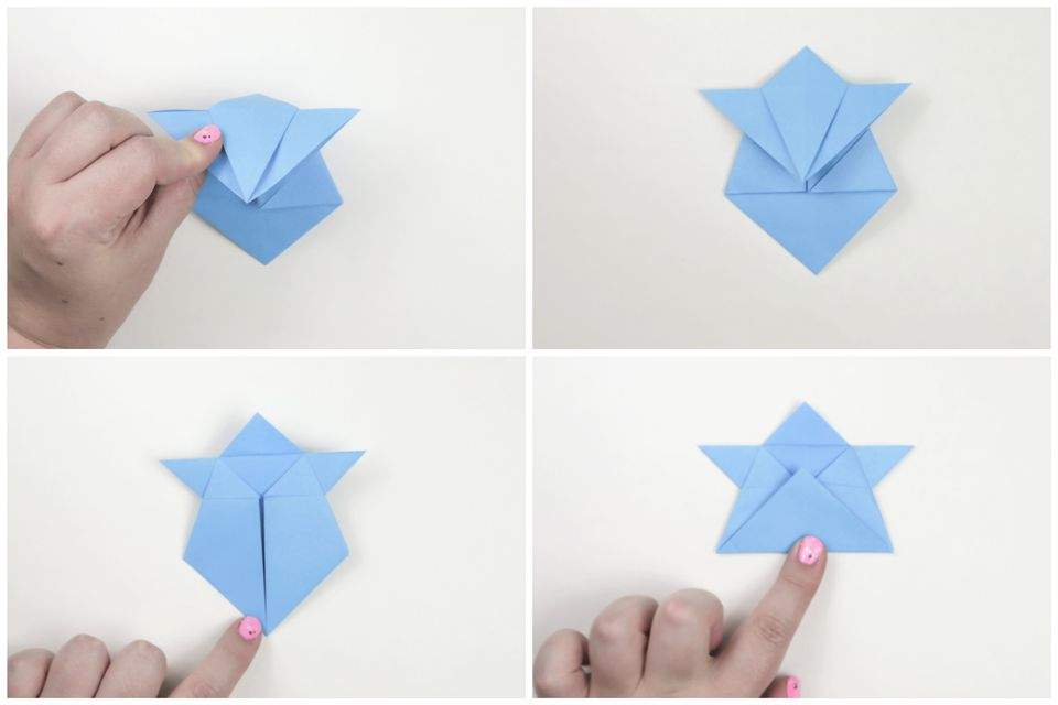 traditional origami sumo instructions