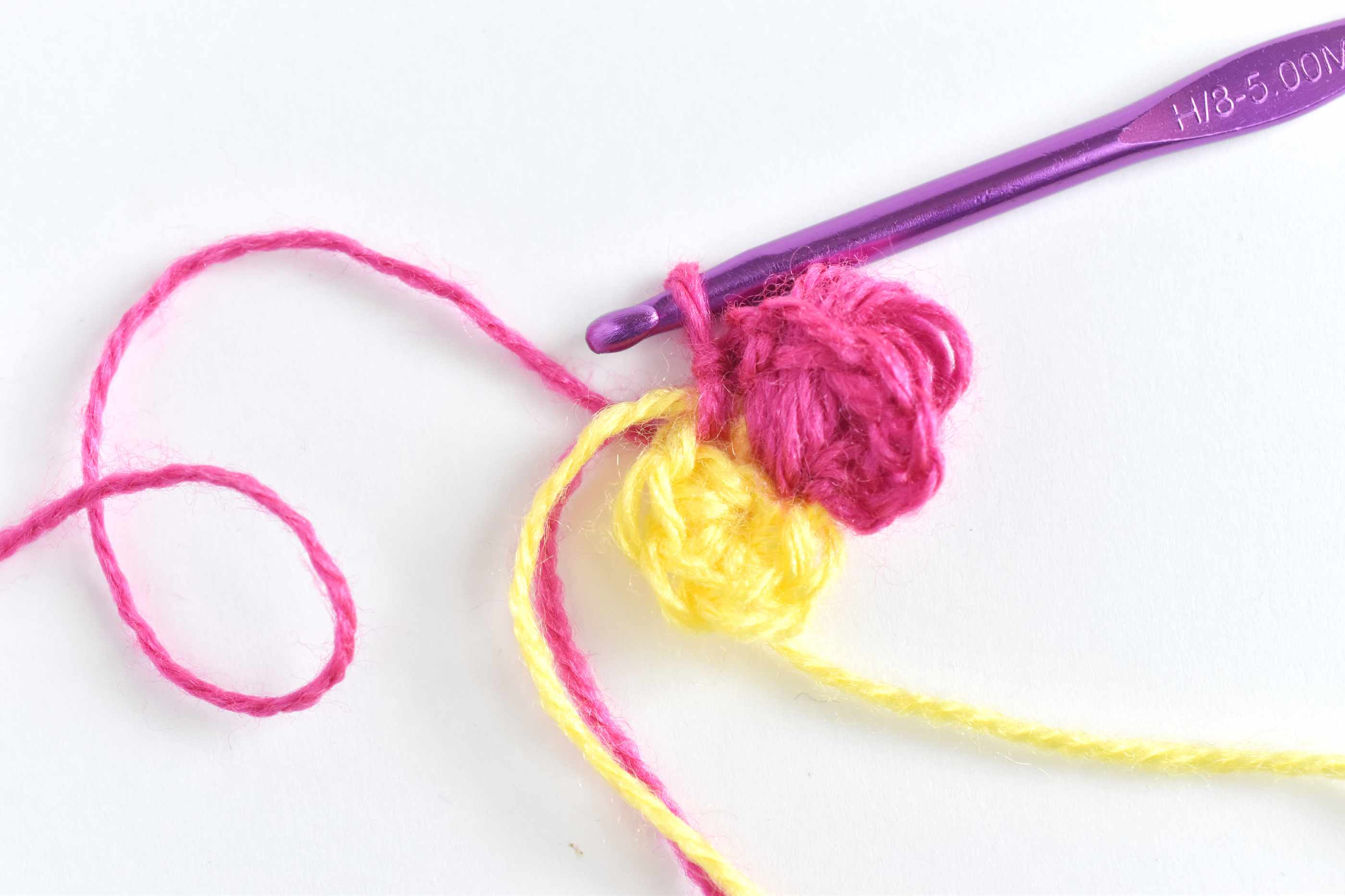 Slip Stitch in the Next Single Crochet