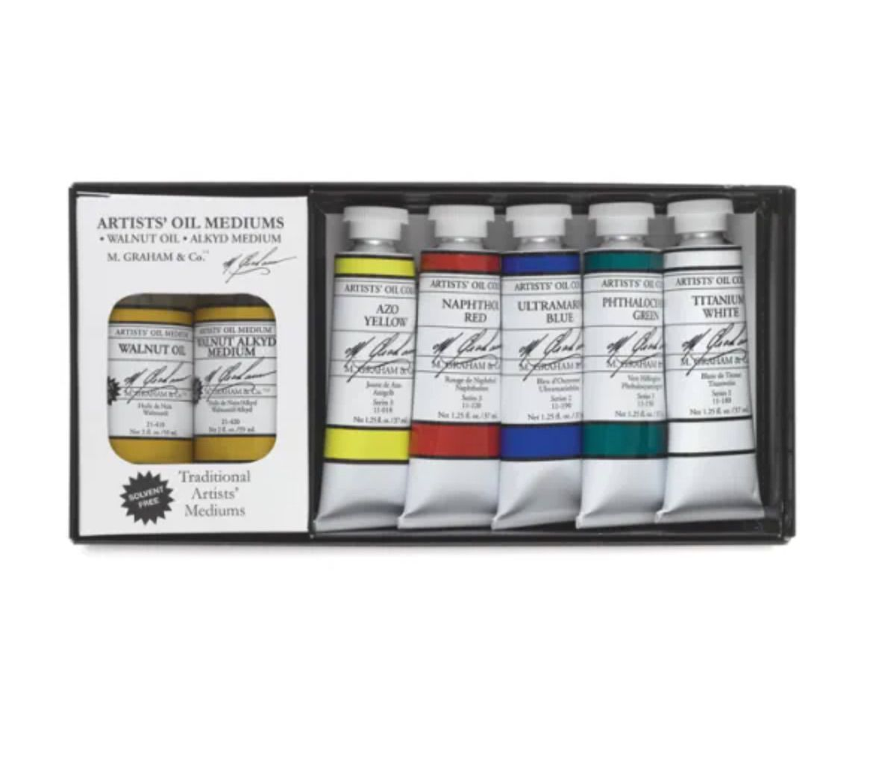 M.-Graham-Artists'-Oil-Paints-and-Sets