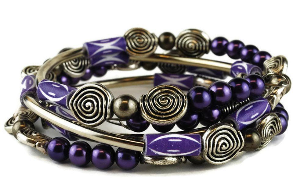 memory wire bracelette