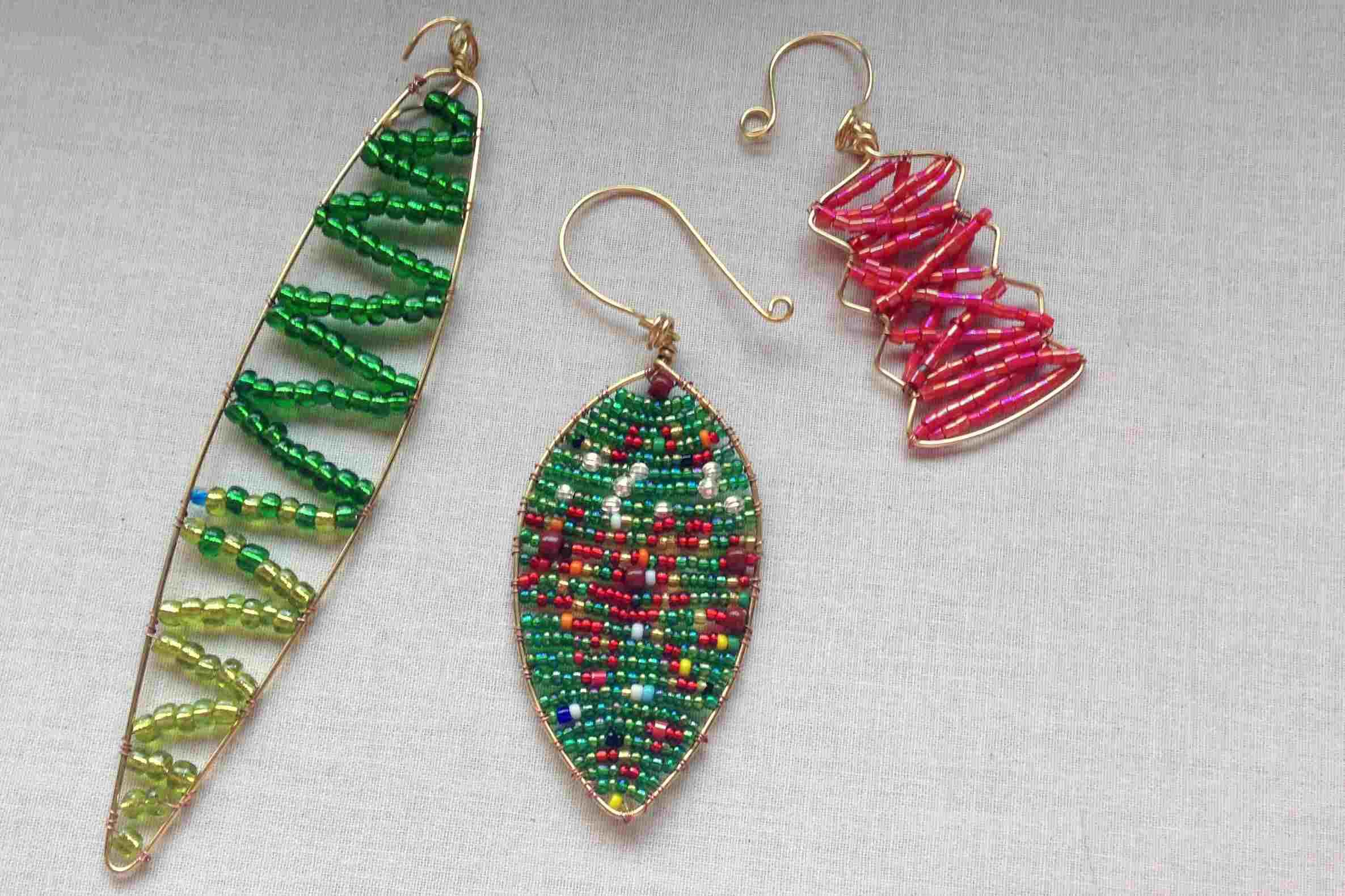 Free Christmas and Holiday Peyote Beading Patterns