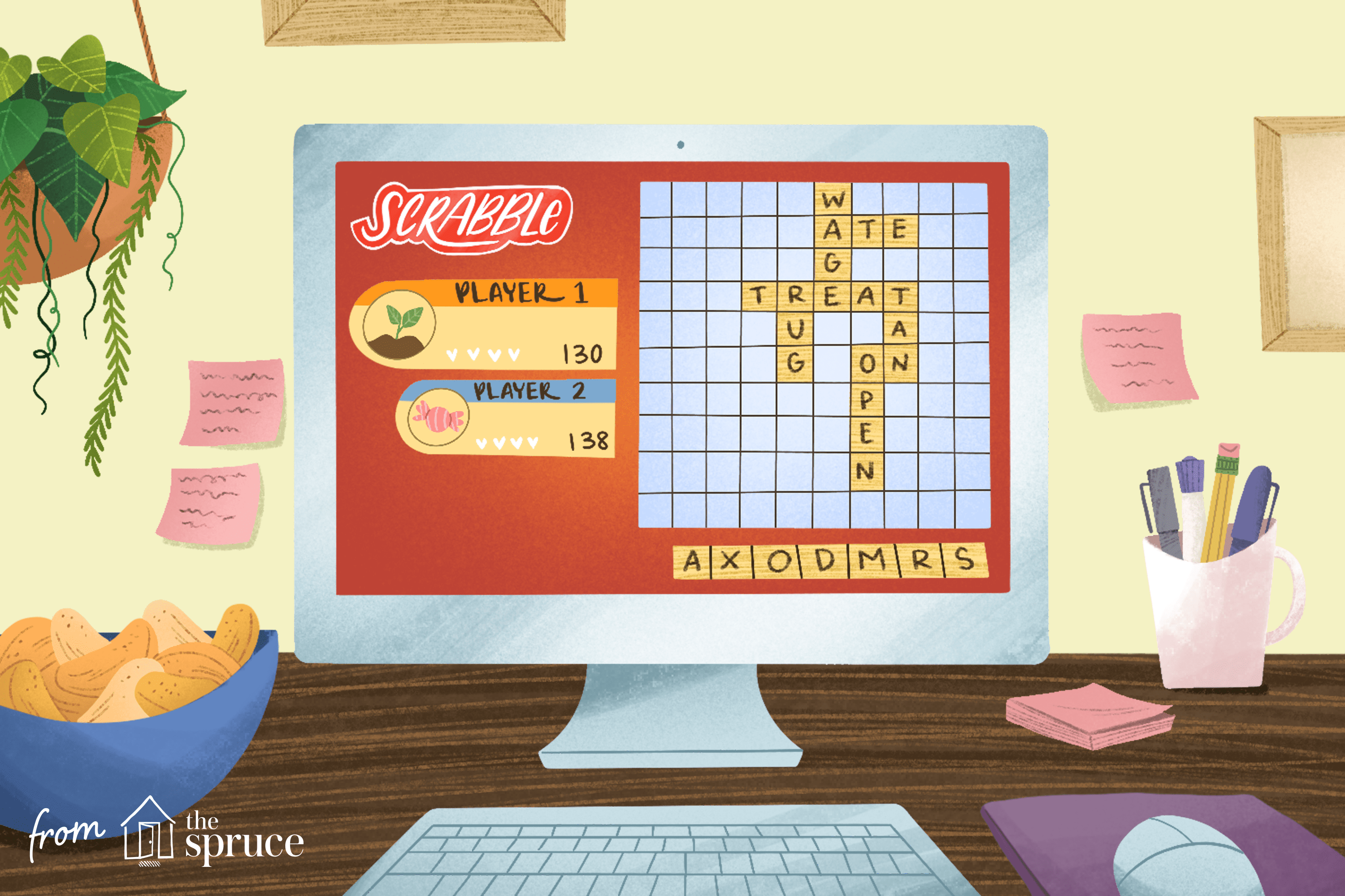 Where To Play Scrabble Or Words With Friends Online