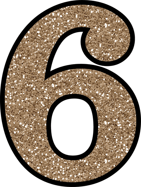 Free Glitter Numbers 0 9 To Download And Print
