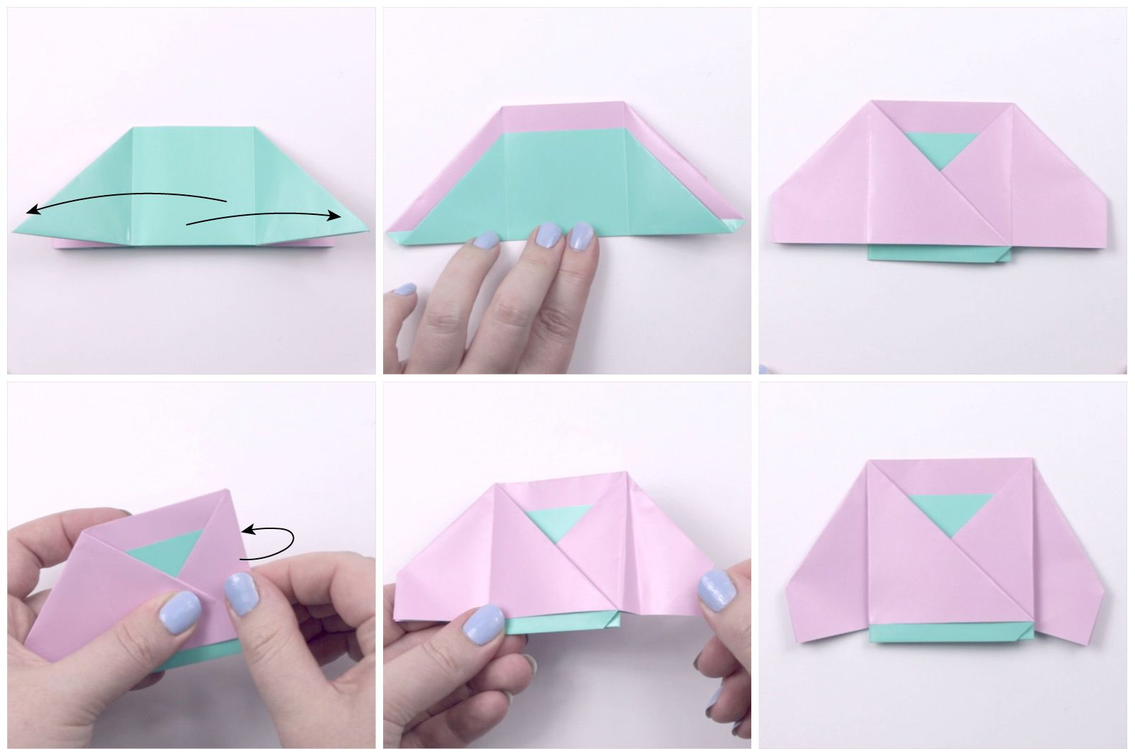How to Make Origami Dress (Style 2) - Easy Origami Tutorial for ... | 1066x1600