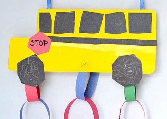school bus crafts