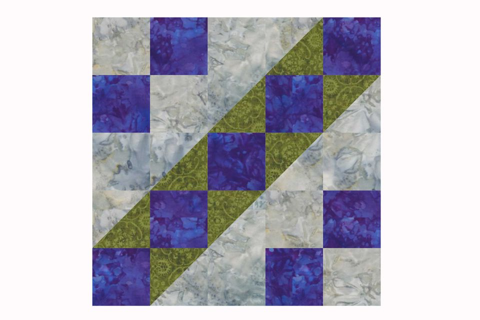 King's Chain Quilt Block Pattern