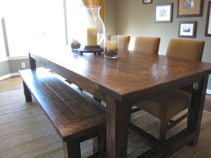 13 Free Diy Woodworking Plans For A Farmhouse Table