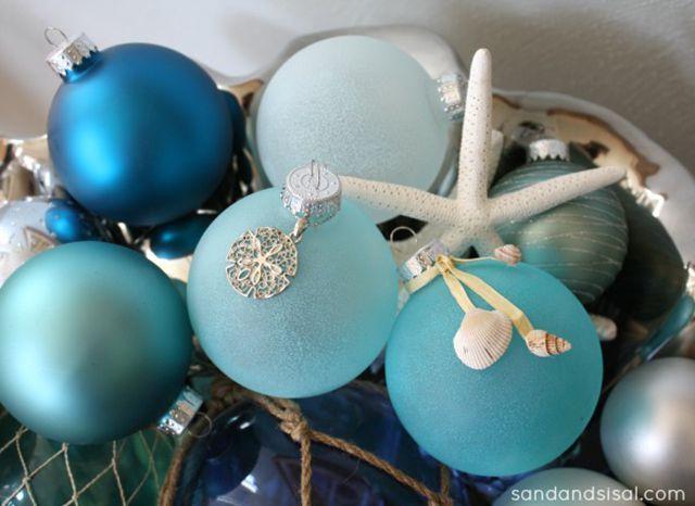 22 diy christmas tree ornaments diy sea glass ornament solutioingenieria Gallery