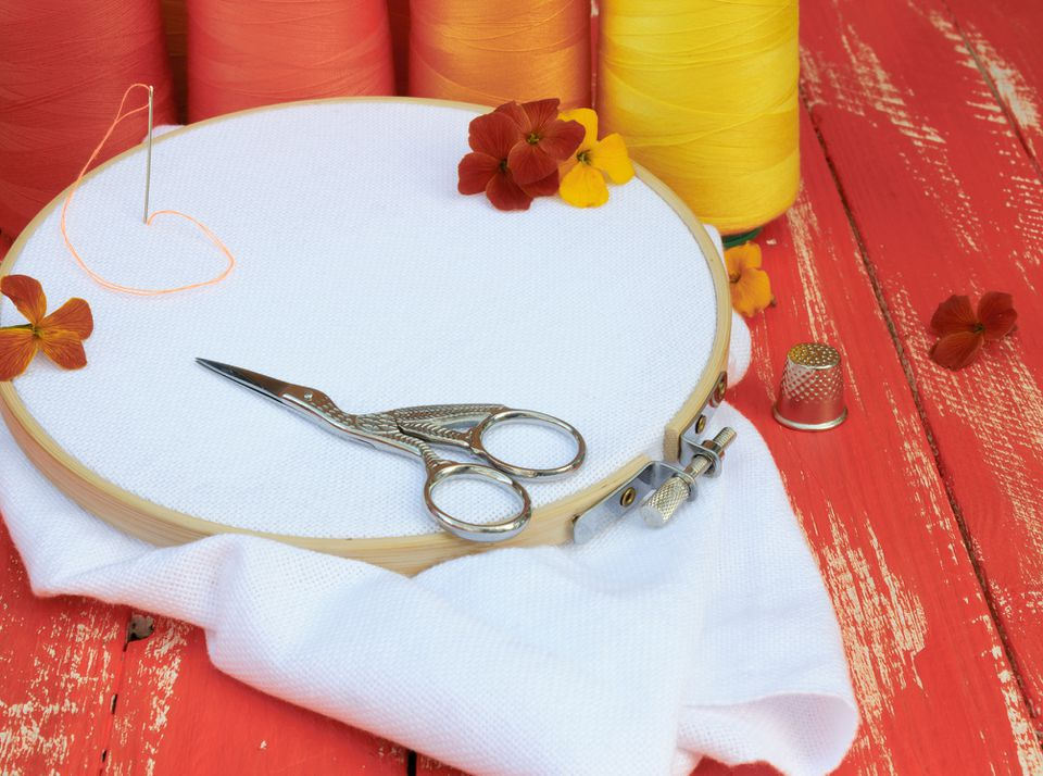 Unique embroidery scissors