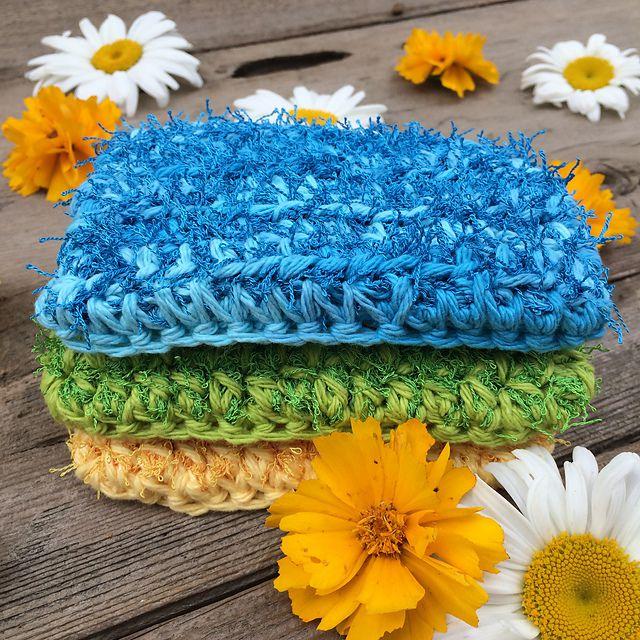 Crochet Kitchen Scrubbie Free Pattern