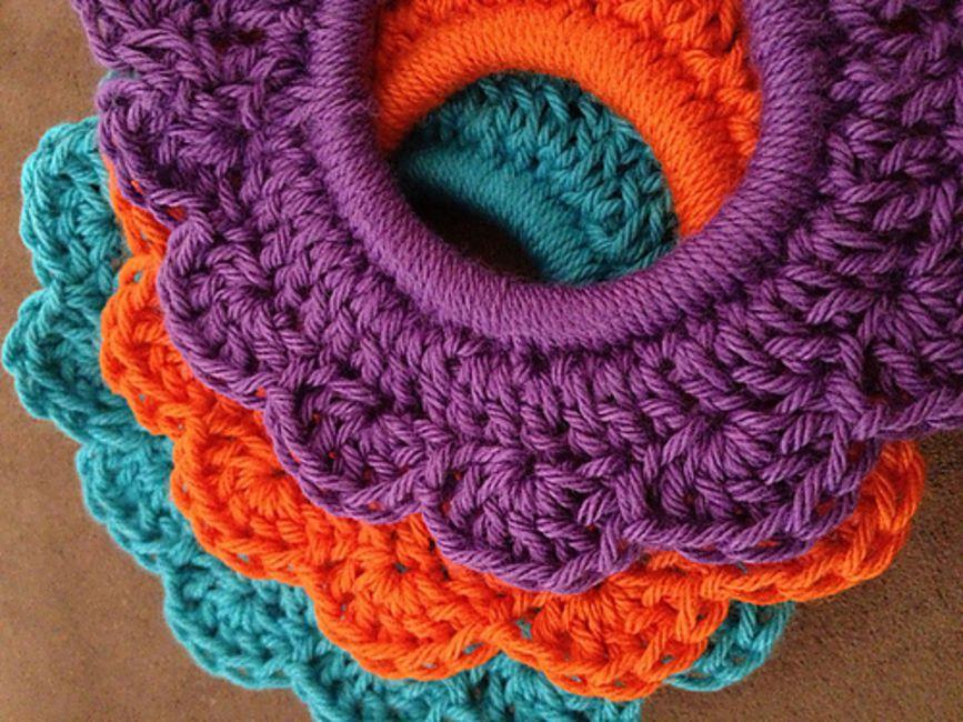 Free Crochet Hair Scrunchie Pattern