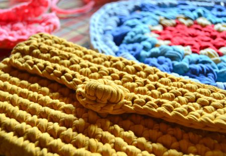 Easy Afghan Stitch Potholders Free Crochet Pattern