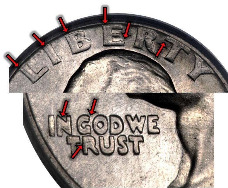 1942-D Washington Silver Quarter Doubled Die Obverse (DDO) Variety