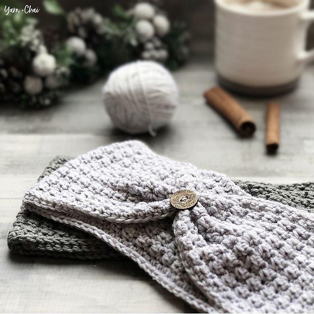 Easy Crochet Earwarmer Free Pattern