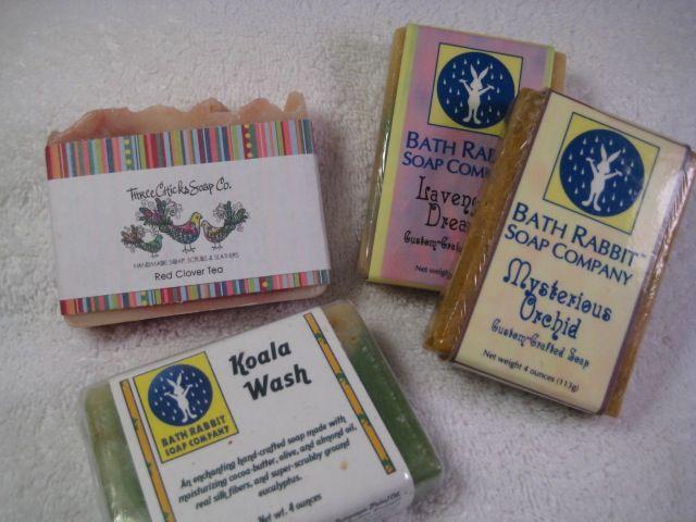 Cigar band soap labels