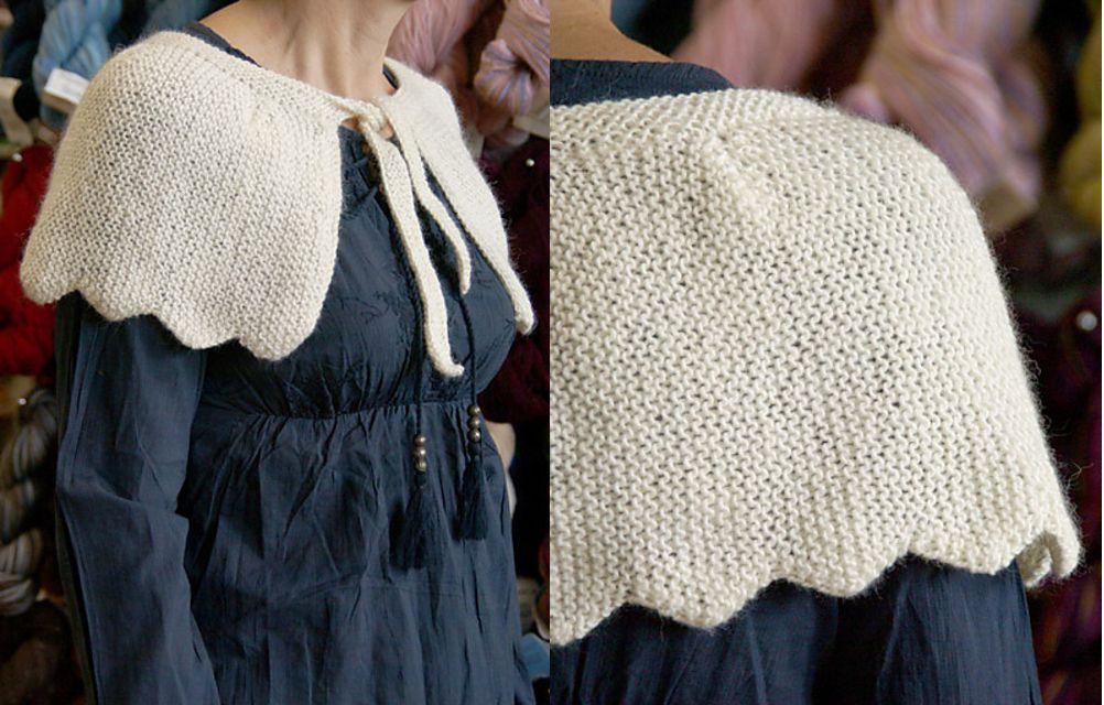 Woodland Capelet Knitting Pattern