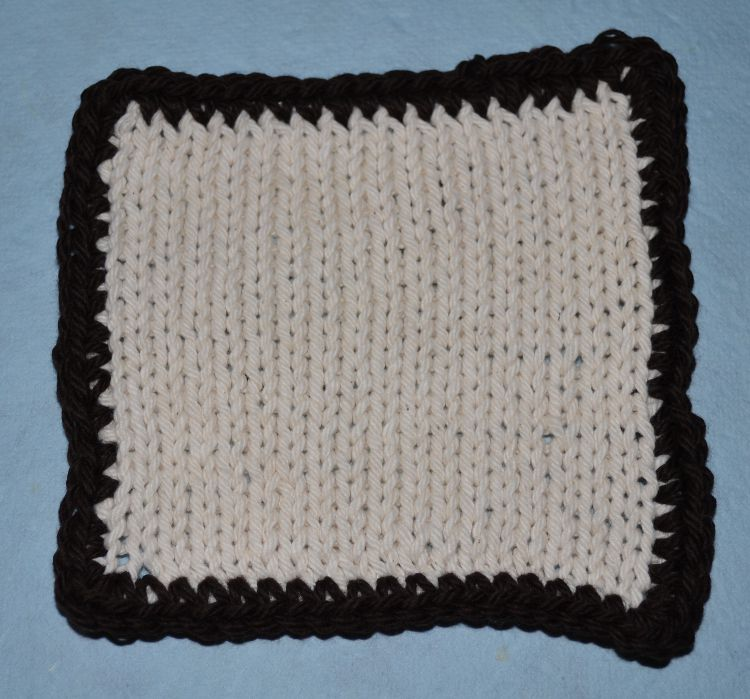How To Crochet A Border Around Any Knitting Project