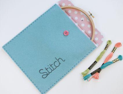DIY Stitching Pouch