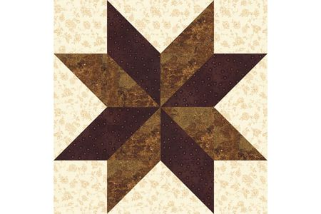 Sarahs Choice Quilt Block Pattern An Easy Star Block