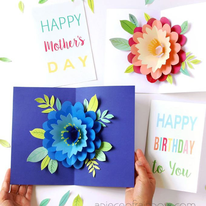 Pleasant Diy Pop Up Cards For Any Occasion Funny Birthday Cards Online Fluifree Goldxyz