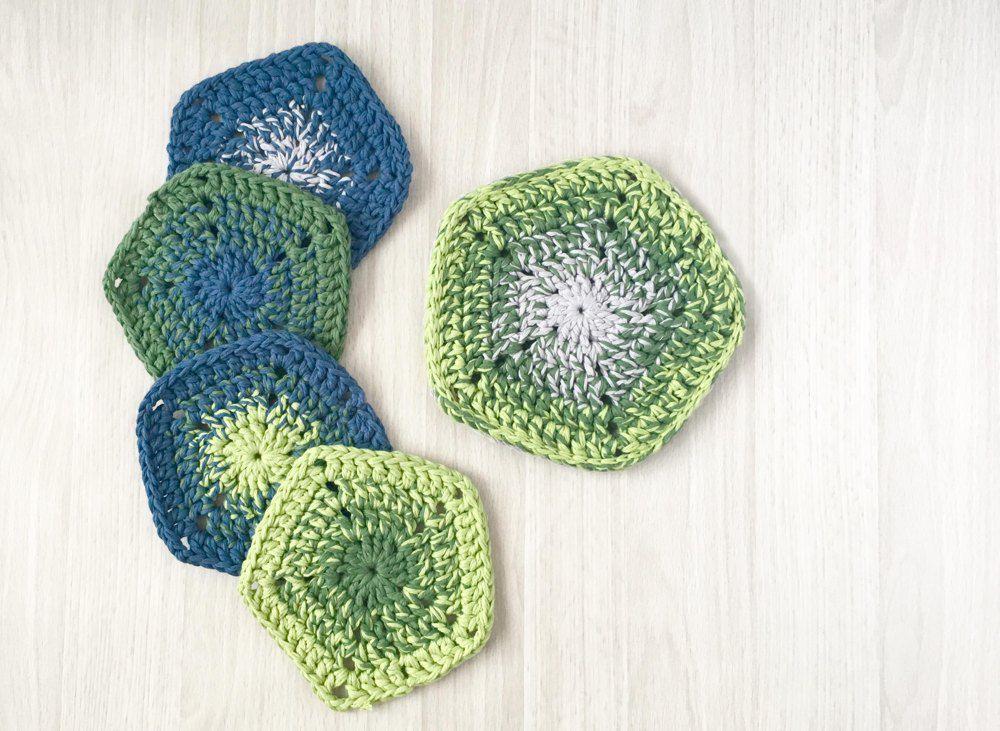 Gradient Pot Holder Crochet Pattern