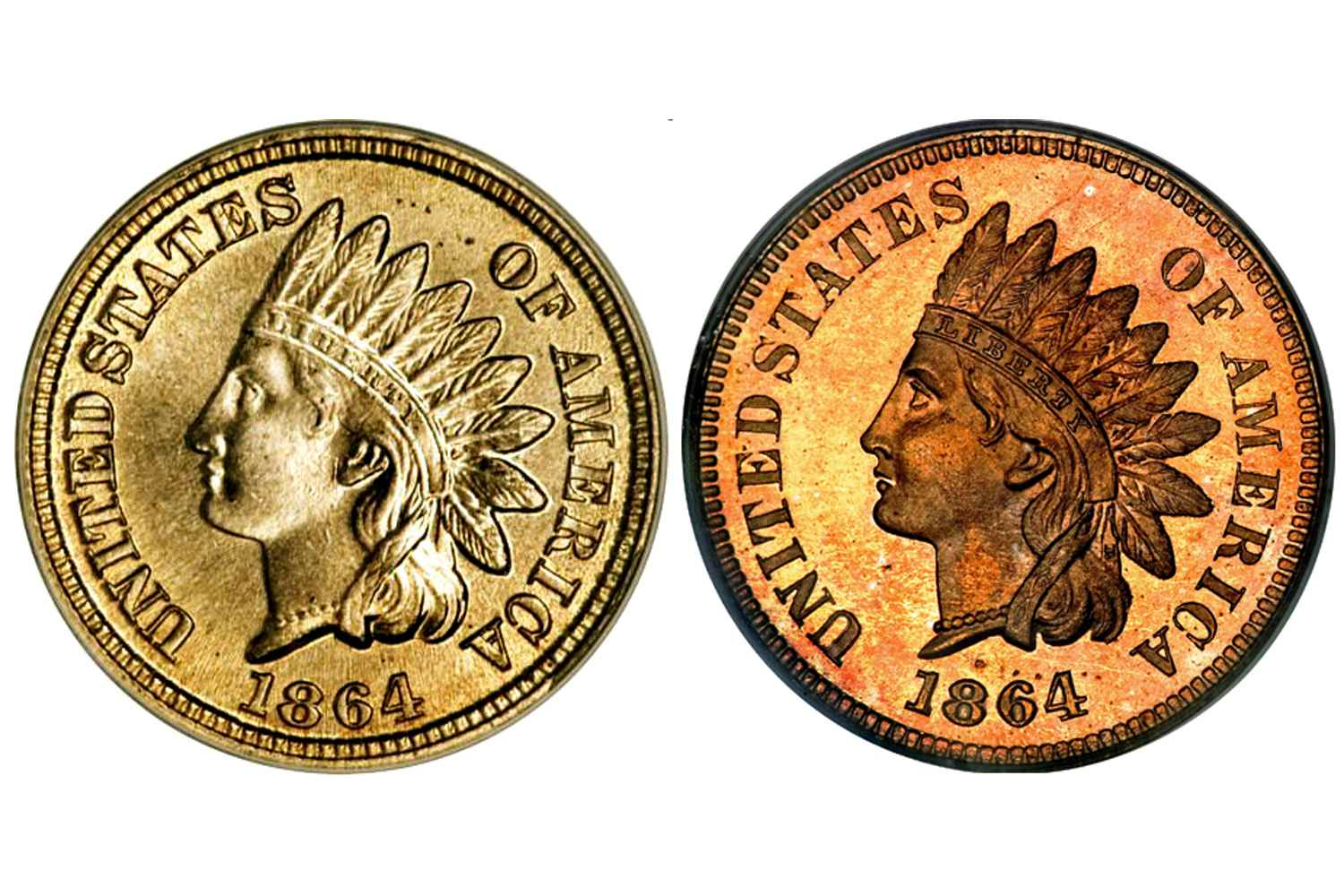 Indian Head Penny Copper Nickel Versus Bronze