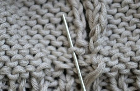 How To Work Seams In Reverse Stockinette Stitch