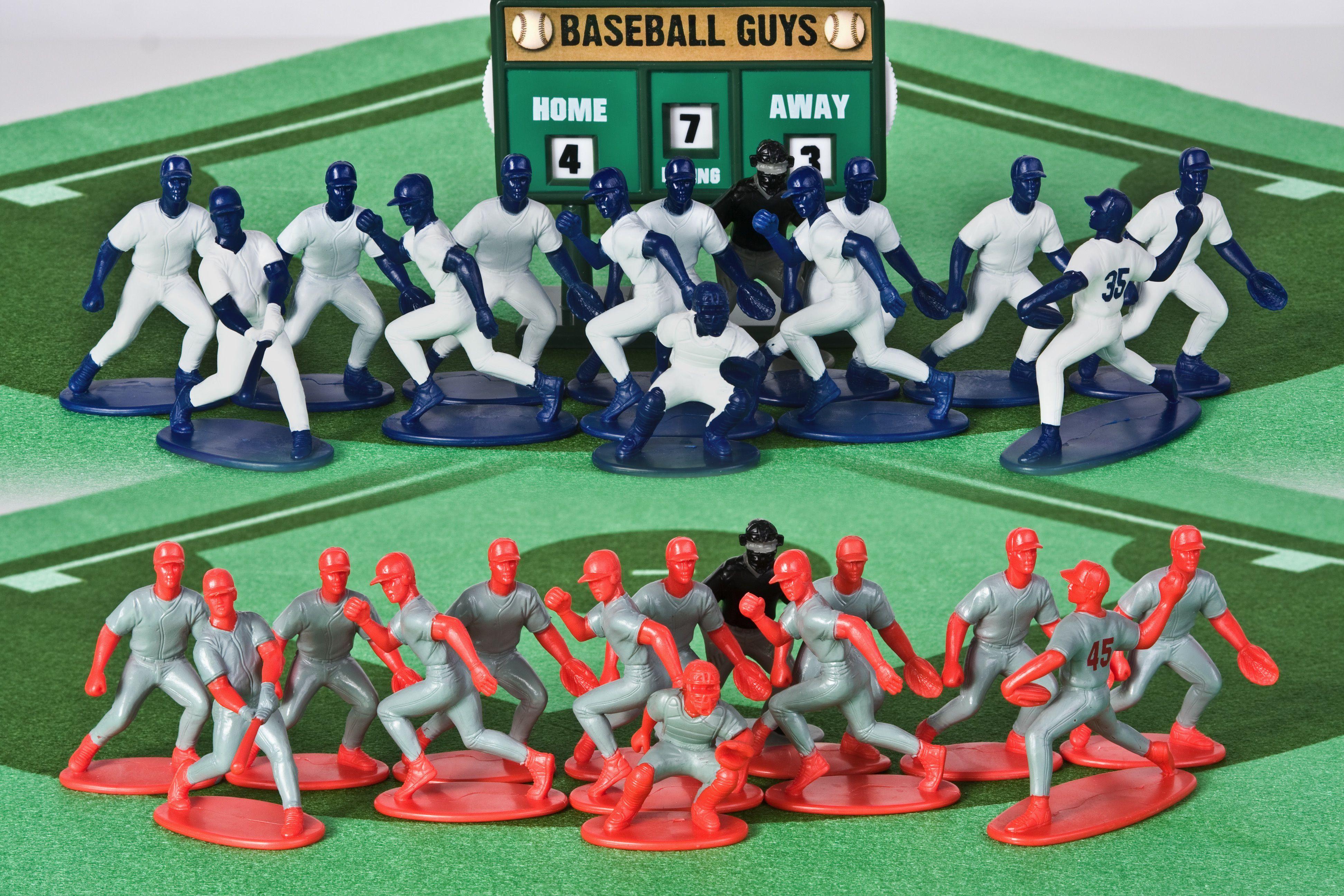 Baseball Guys Action Figure Toys