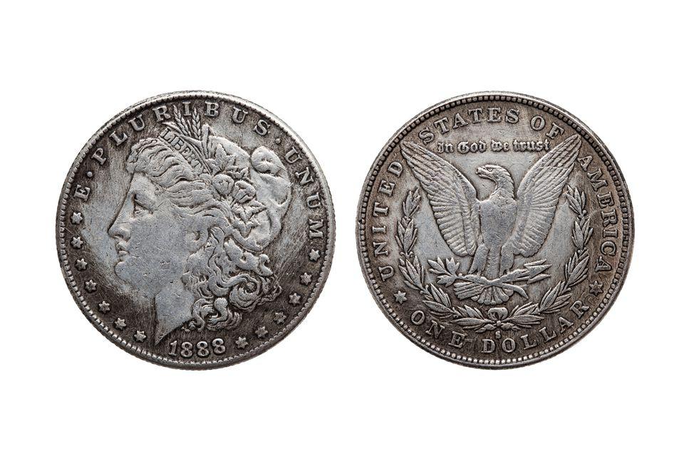 USA One Dollar Morgan Silver Coin