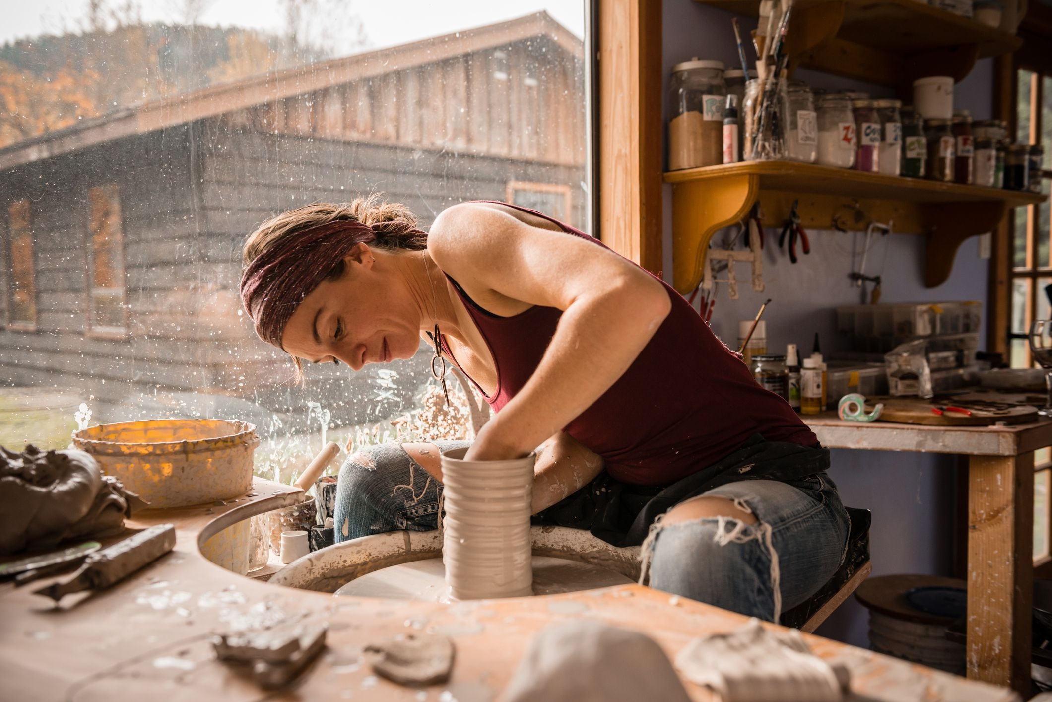 How to Find or Create a Small Pottery Studio