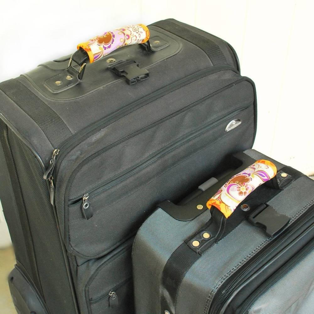 Washi Tape Luggage Handle Wraps