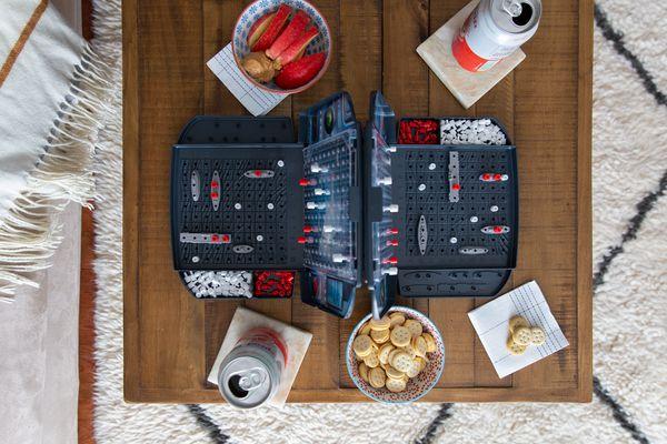 battleship board game in progress