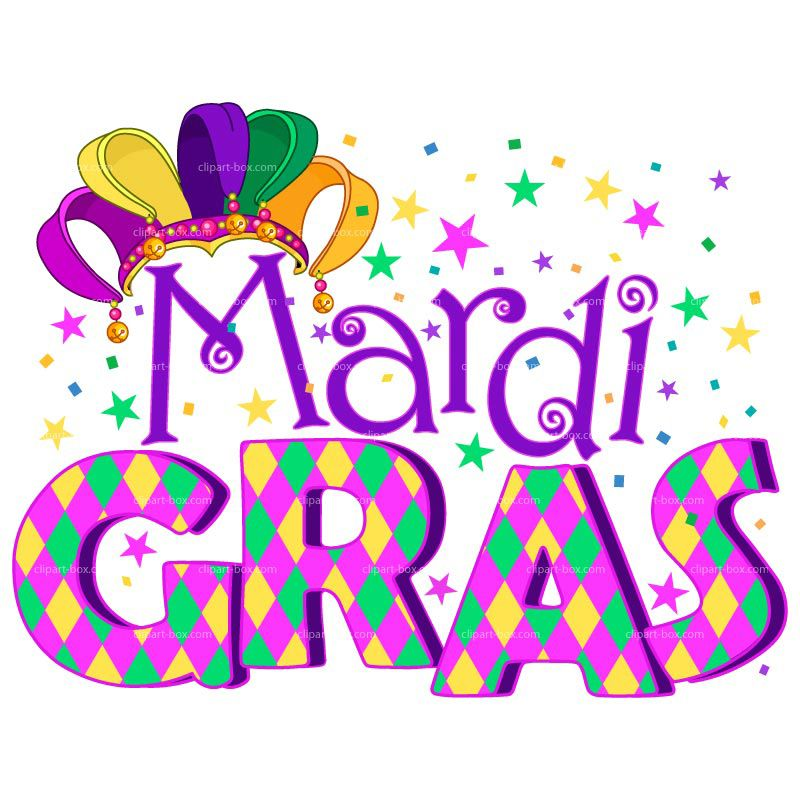 Mardi Gras In Colors and Patterns