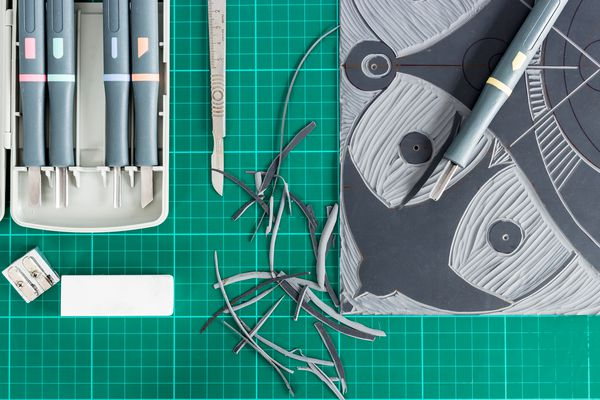 Lino tools.
