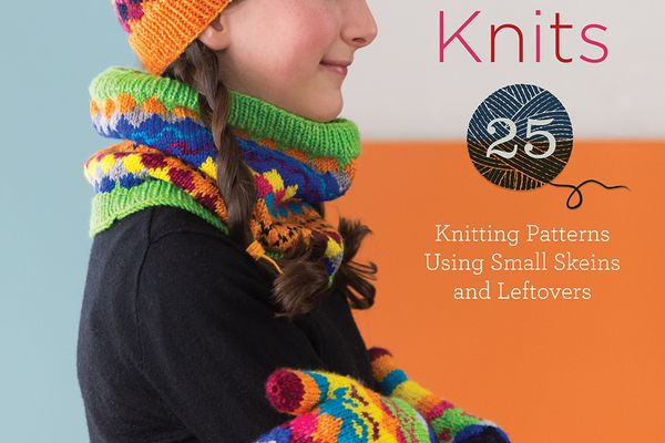 What to knit with mini skeins of yarn.
