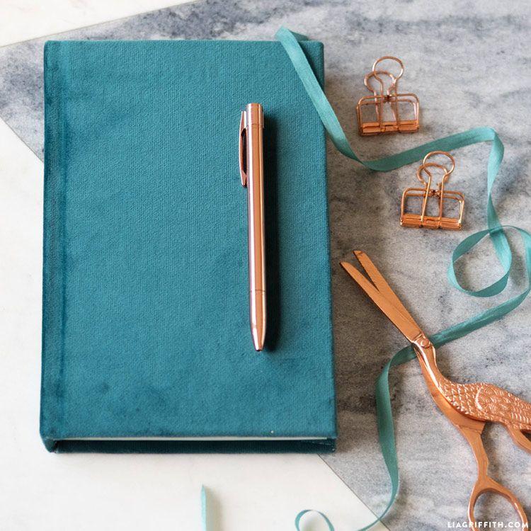 Velvet Hardcover Journal