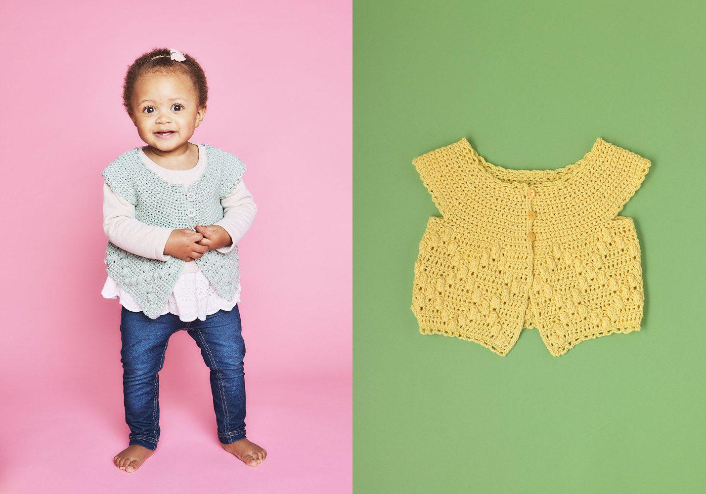 Morning Dew Cardigan Crochet Pattern