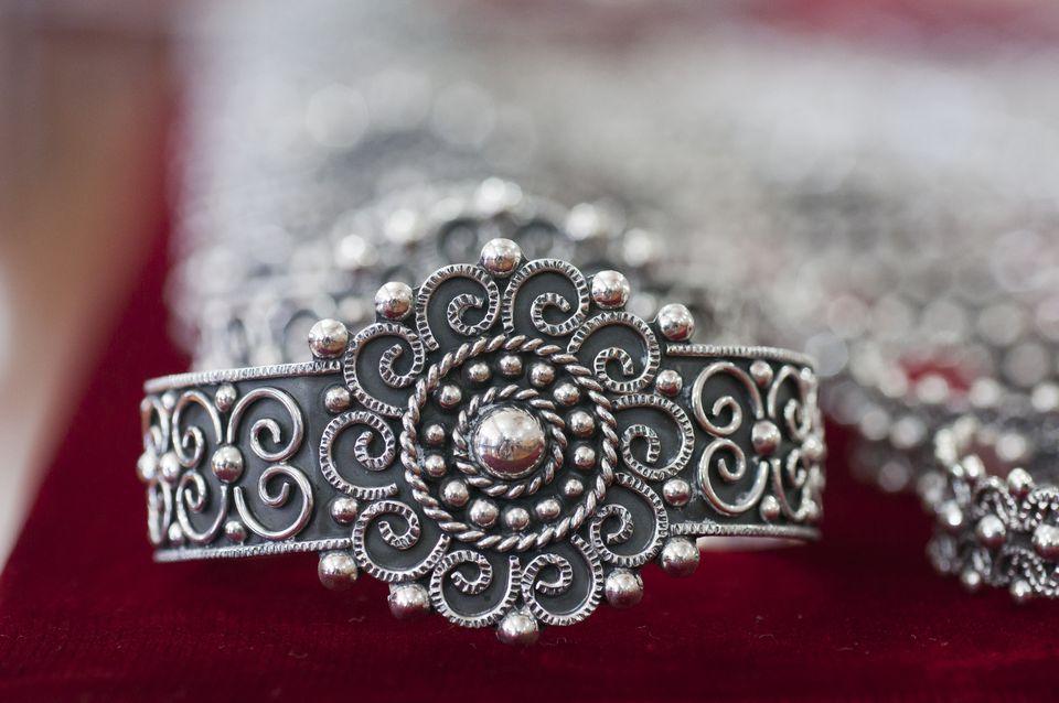 Silver bracelet, Taxco, Mexico