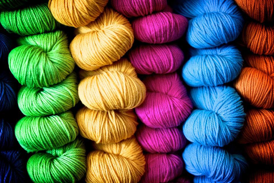 Hank of yarn